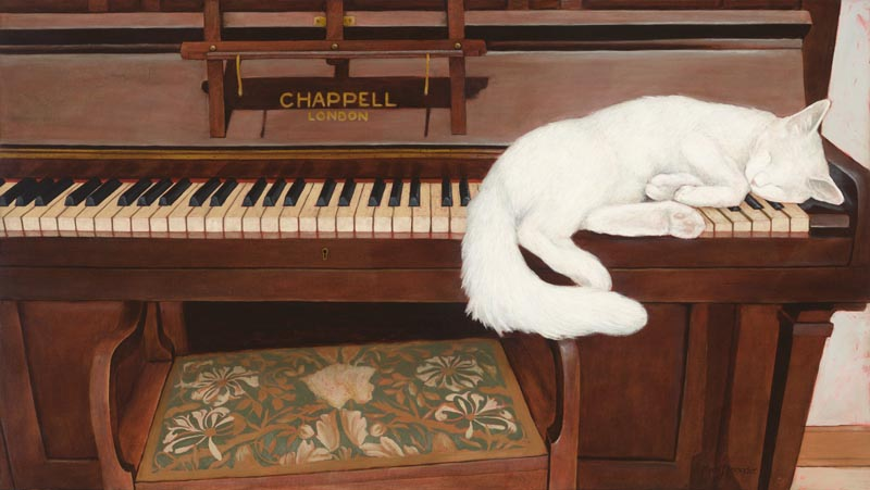 Chappell London, oil on canvas, 80cm by 120cm. (2011).