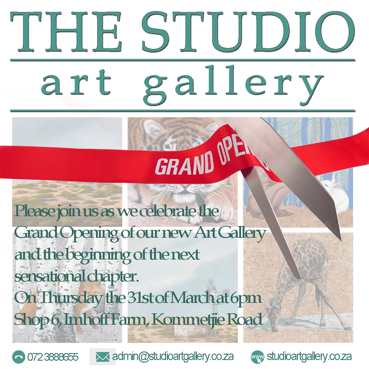 The Studio Art Gallery's Grand Opening
