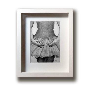 Ballet Dancer – Original Drawing