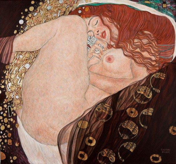 Marc Alexander | Danae After Klimt | Danae After Gustav Klimt | Reproduction