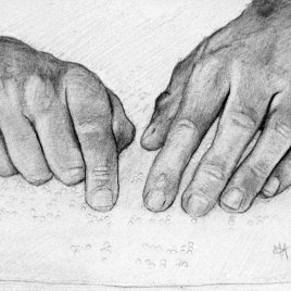 Marc Alexander | Reading Braille | Touch Series