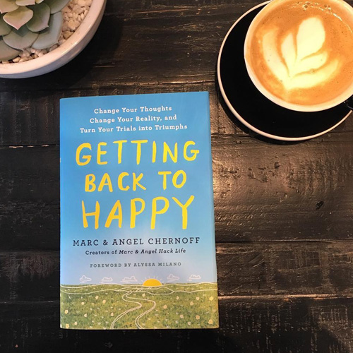 Getting Back to Happy is a good morning read