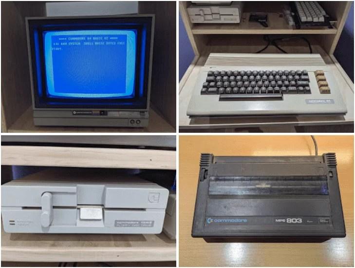My original Commodore 64 equipment