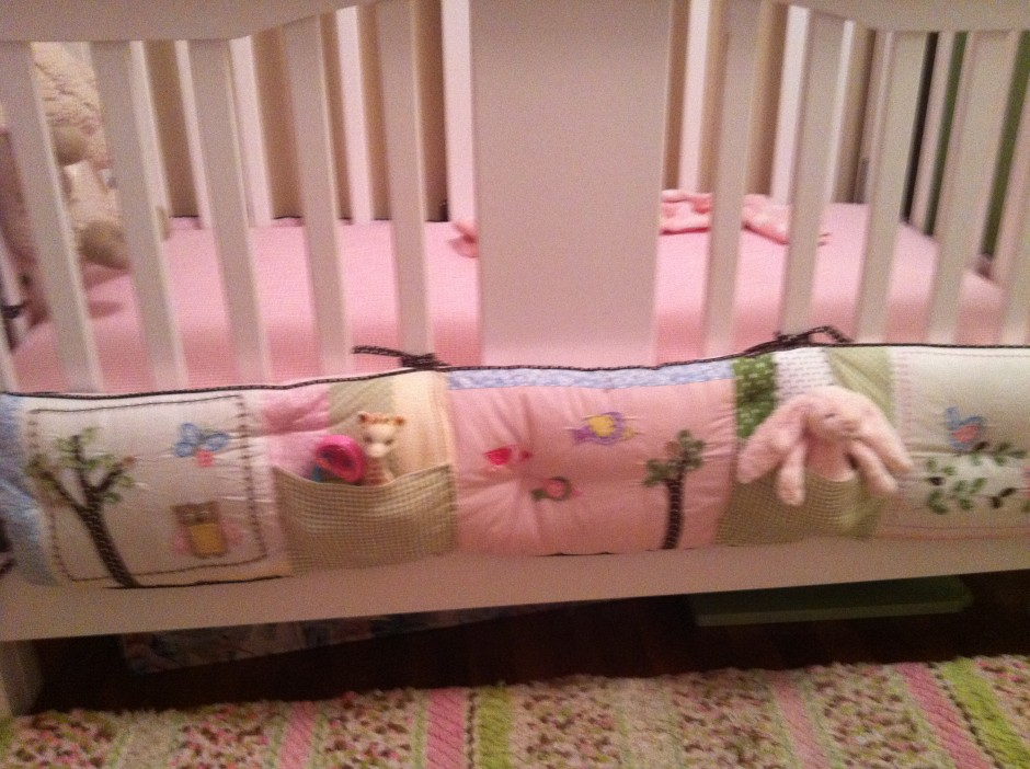 Bedroom Charming Crib Bumper Pads For Wonderful And Cozy