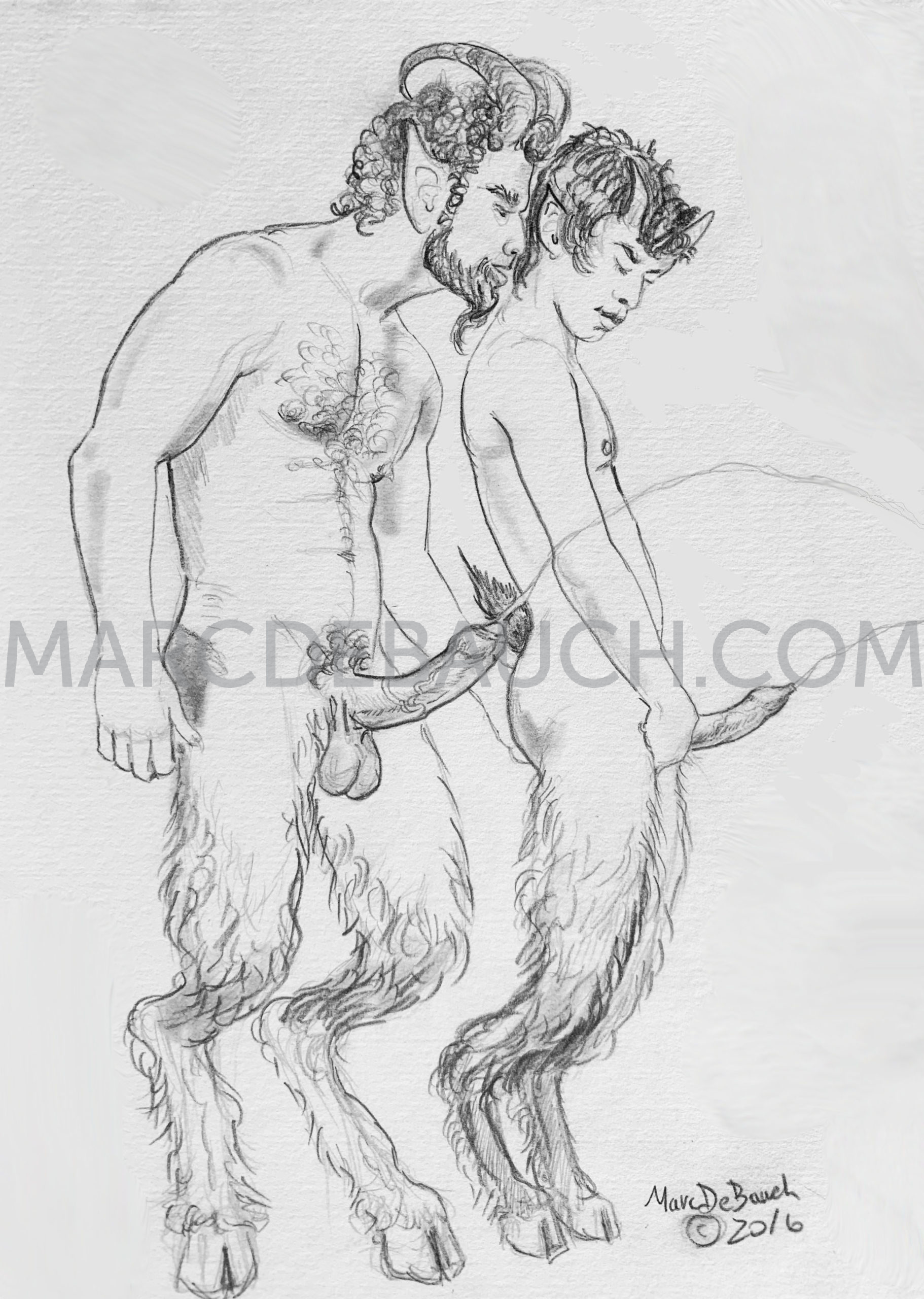 SATYRS PISSING