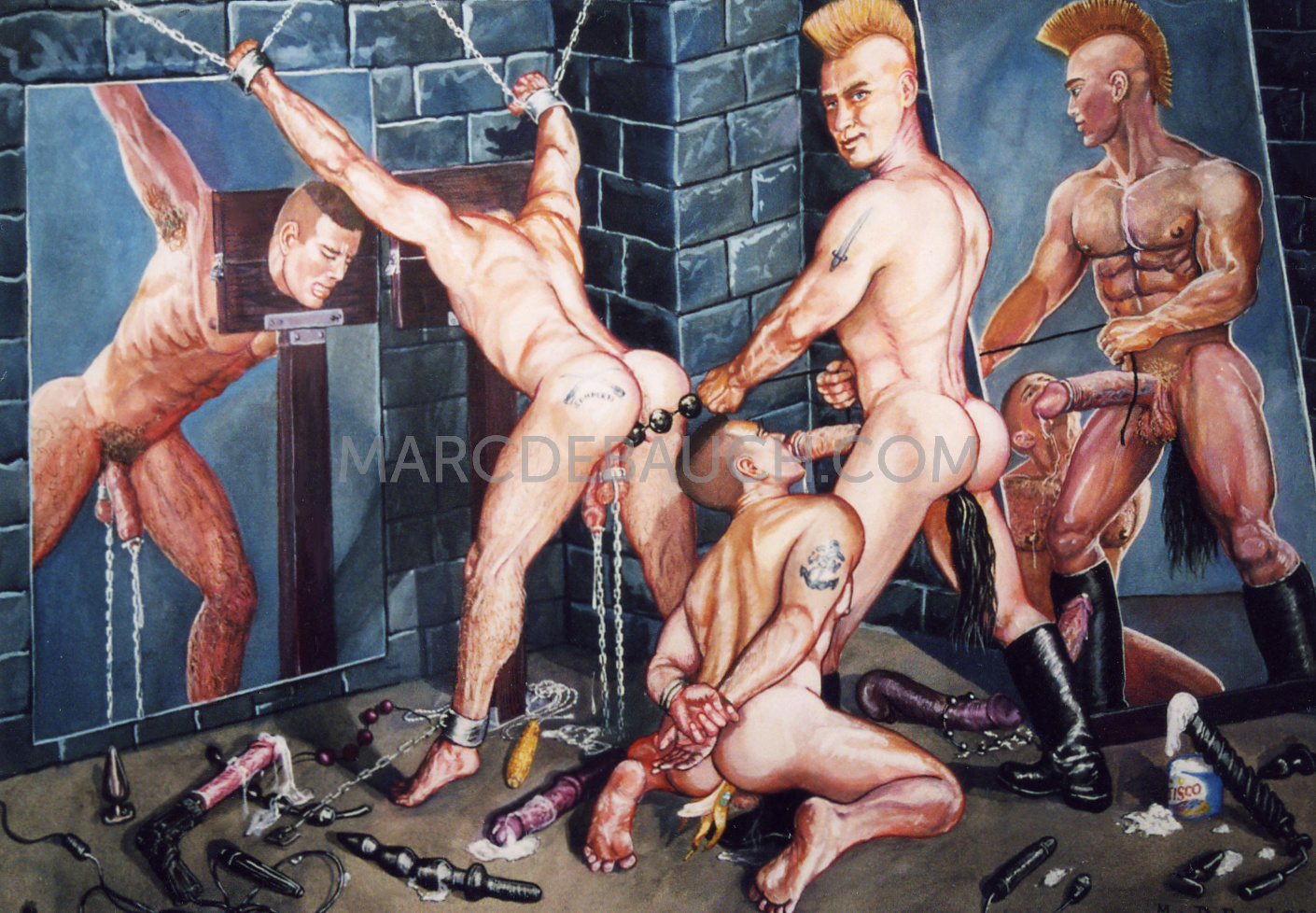 TOY DADDY'S DUNGEON