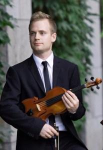 Marc DJokic Canadian Violinist