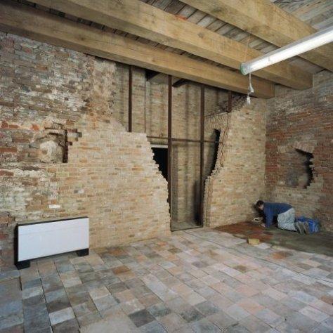 Huidig interieur van het kasteel na de restauratie.