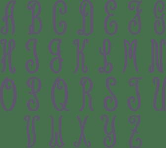 Picture of Geneva font