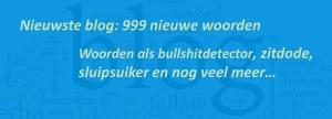 999 nieuwe woorden