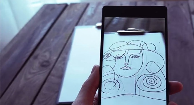 SketchAR an awesome app for drawing