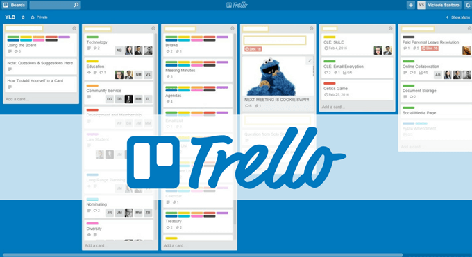 project management tool Trello