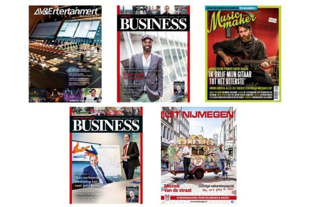 Covers voor tijdschriften