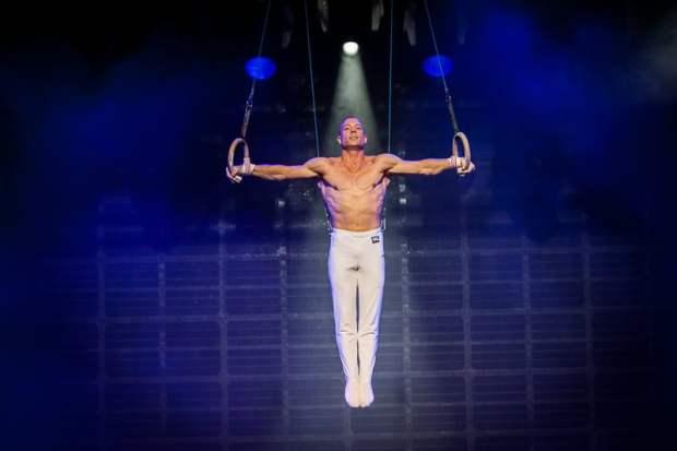 Yuri van Gelder doet zijn Olympische oefening