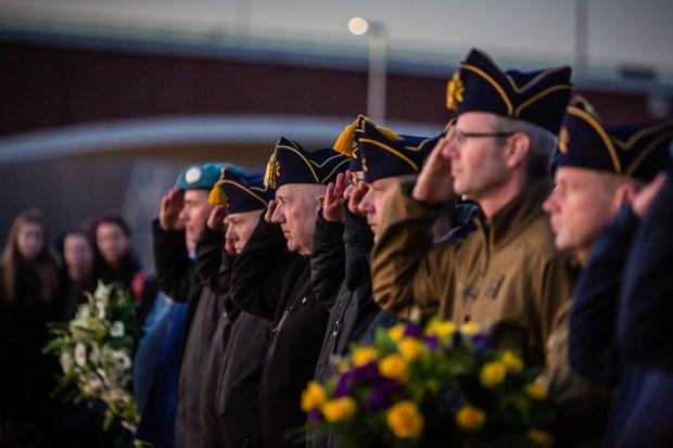 Herdenking 75 jaar bombardement Nijmegen: Sunset March door Marcel Krijgsman