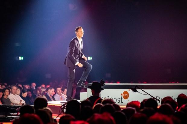 ING CEO Vincent van den Boogaart op Business Boost Live 2019 door Marcel Krijgsman