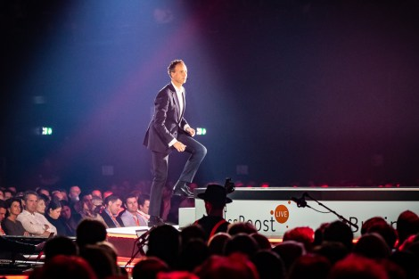 ING CEO Vincent van den Boogaart op Business Boost Live 2019 door Marcel Krijgsman