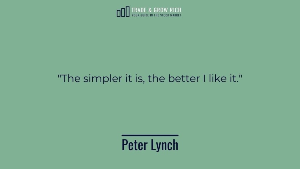 Peter Lynch Quote and Trading Rules