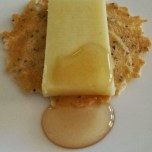 Cabot Farmer's Legacy Cheddar and Sourwood Honey on 34 Degree Poppyseed Crisp
