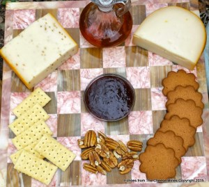 Marieke Gouda Tasting with Pepper Fig Spread and Sourwood Honey