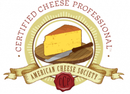 American Cheese Society Certified Cheese Professional