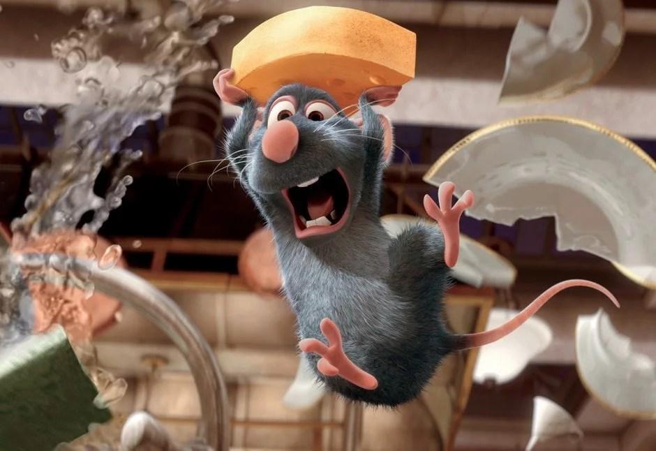 Cena do filme Ratatouille