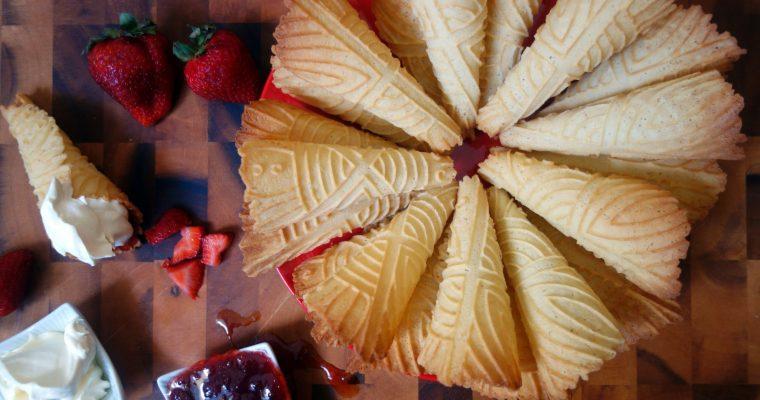 Krumkake – A Baker's Odyssey Challenge #57