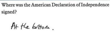 Onde a Declaração da Independência foi assinada?