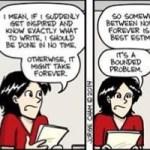 Entre a eternidade e agora: é quando você vai terminar seu trabalho acadêmico