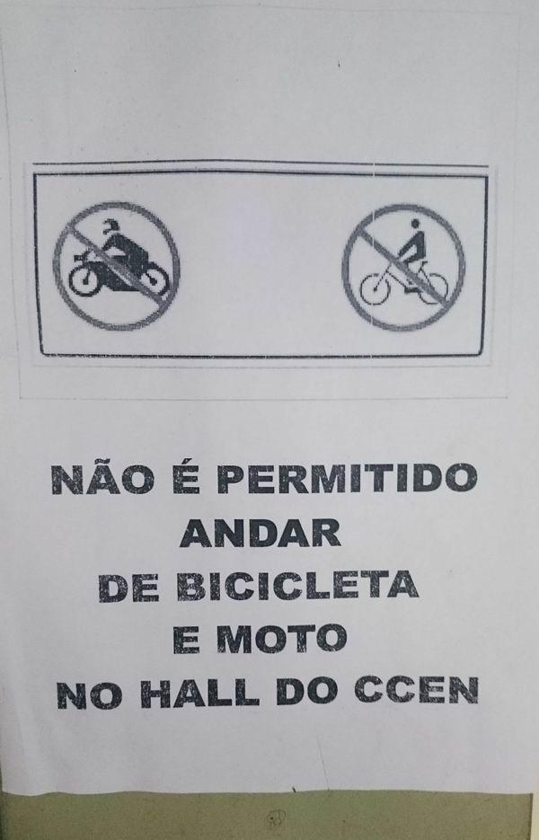 as regras e o proibido