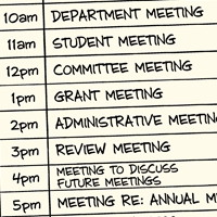 O valor das reuniões na academia