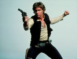 Harrison Ford como Han Solo