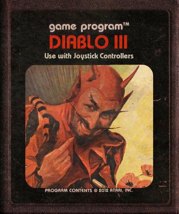 Videojuegos modernos como cartuchos de Atari - Diablo 3