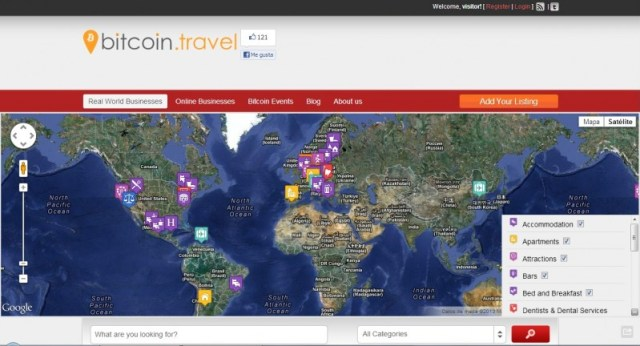 bitcoin travel - comprar usando bitcoin