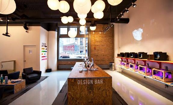El 3D Printer Experience abierto en Chicago (Estados Unidos), el primer bar del mundo con impresoras 3D