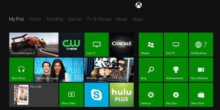 Escritorio de Xbox One