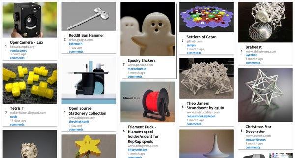 6 sitios de donde descargar modelos para imprimir en 3D