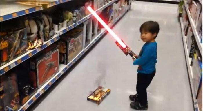 kiddo lightsaber