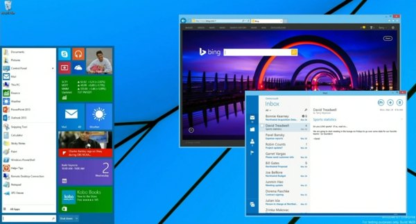 menu de inicio windows 8.1