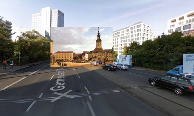 Spittelmarkt - Berlin - 1833 - Eduard Gartner