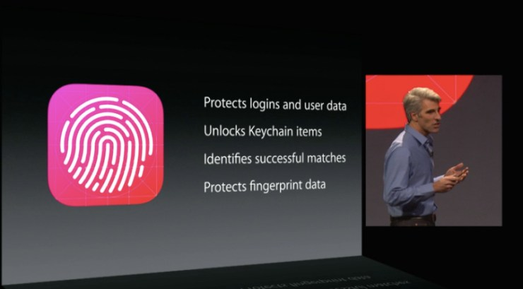 touch id ios 8