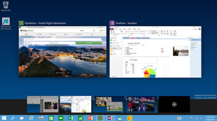 windows 10 task view