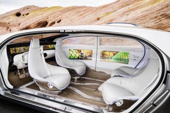 Mercedes-Benz F 015 / foto promocional.