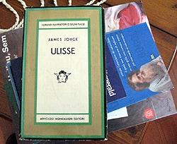 Copertina dell' Ulisse di Joyce