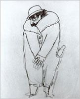 Marcel Proust in un disegno di...