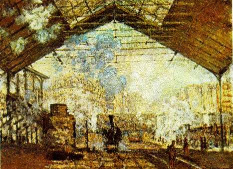 Monet Gare Saint Lazare