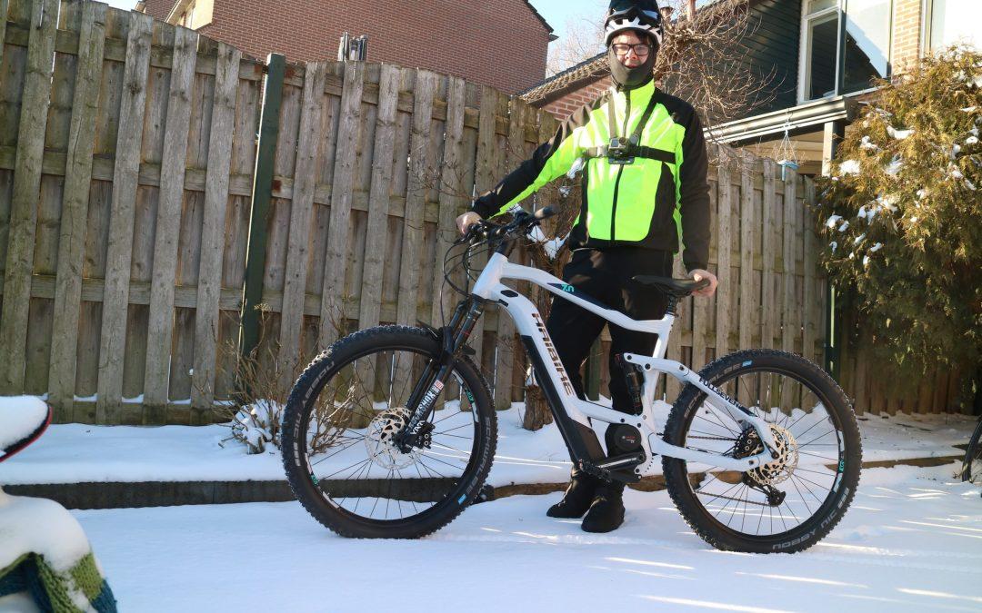 Nieuwe fiets (E-MTB)