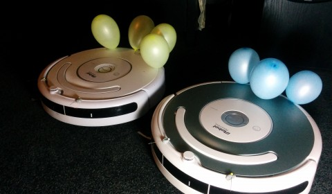 Upgraded Roomba