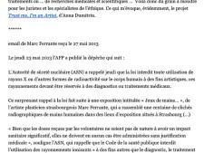 Press. Annick Bureau, juillet 2013