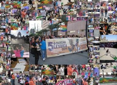 5a Marcha Lésbica México 2011